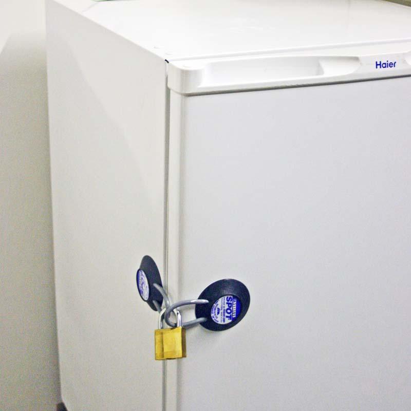 Refrigerator Lock for dorm fridge pharmacy medical facilities schools & Refrigerator Lock | Refrigerator Door Lock | Fridge Lock
