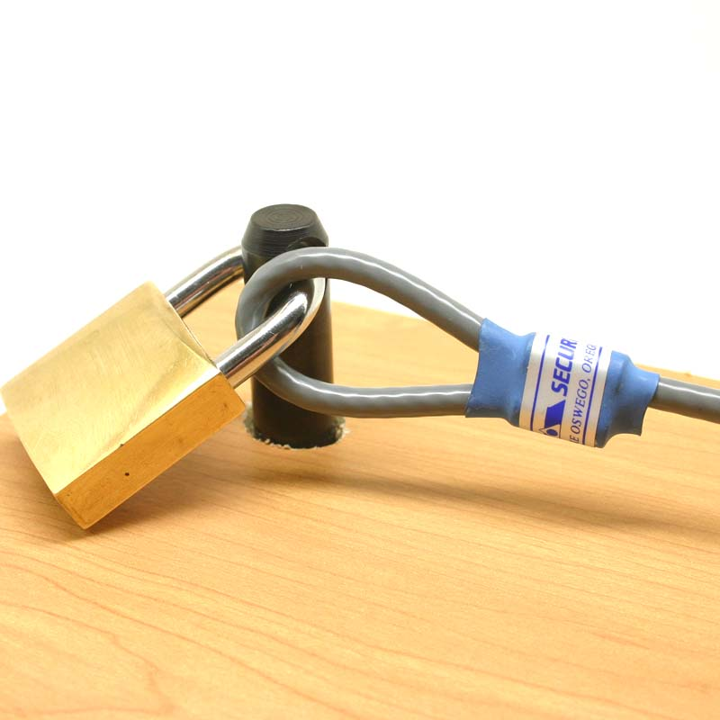 Computer Lock Anchor Pin : Computer Cable lock anchor pin