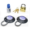 Refrigerator Lock kit for dorm fridge, pharmacy, medical facilities, schools